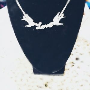Jewelry - Sparrows + Love Necklace